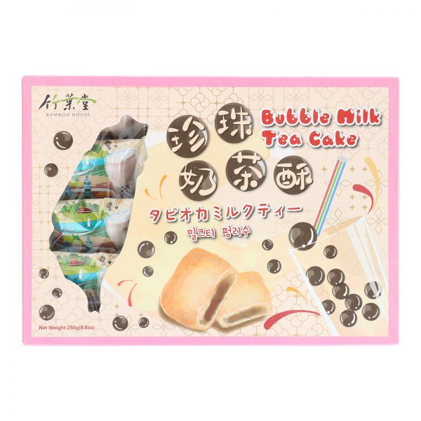 BAMBOO HOUSE BUBBLE MILK TEA PINEAPPLE CAKE (250G) (FRONT)