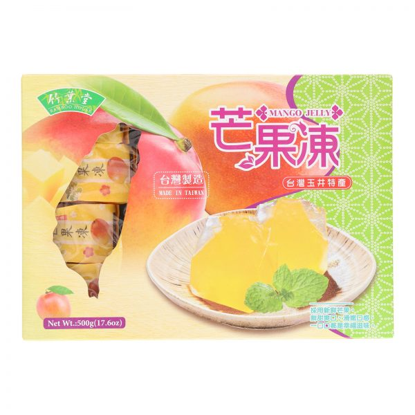 BAMBOO HOUSE MANGO JELLY (500G) (FRONT)
