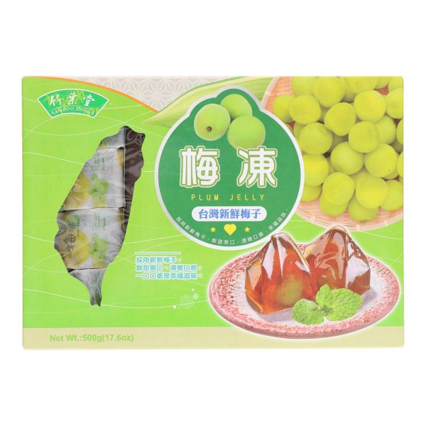 BAMBOO HOUSE PLUM JELLY (500G) (FRONT)
