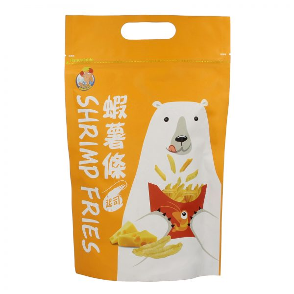 Polar Bear Taiwan Cheese Shrimp Prawn Cracker Fries Snack – By food People Front