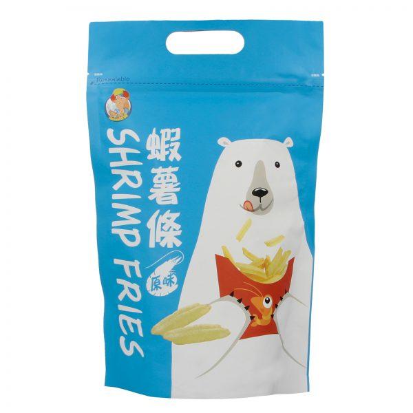 Polar Bear Taiwan Original Shrimp Prawn Cracker Fries Snack – By food People Front