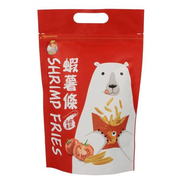 Polar Bear Taiwan Tomato Shrimp Prawn Cracker Fries Snack – By food People